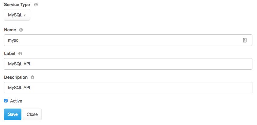 Naming your MySQL API