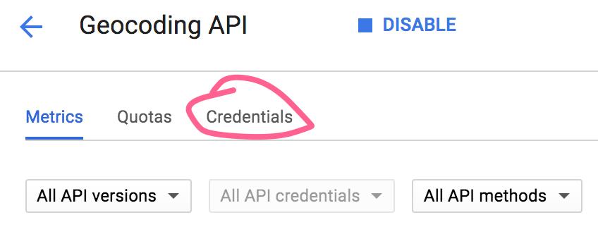 Generating API Credentials