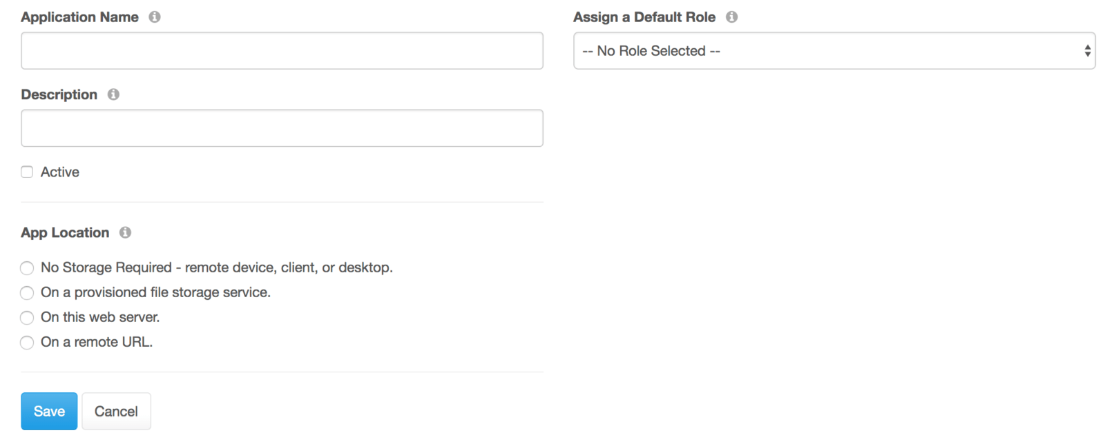Creating an API key
