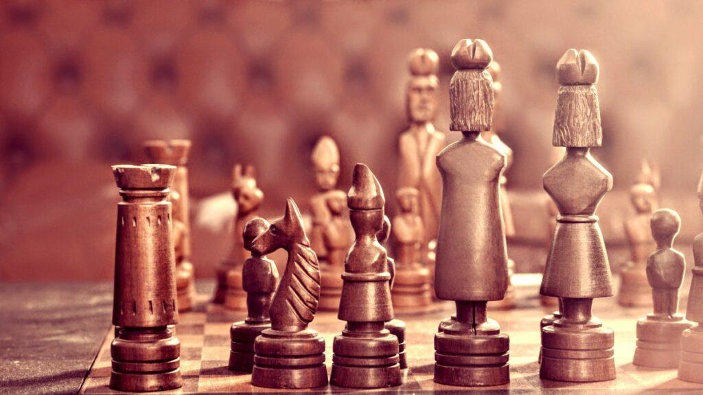 Chessboard representing the Reusable REST API Platform Strategy.