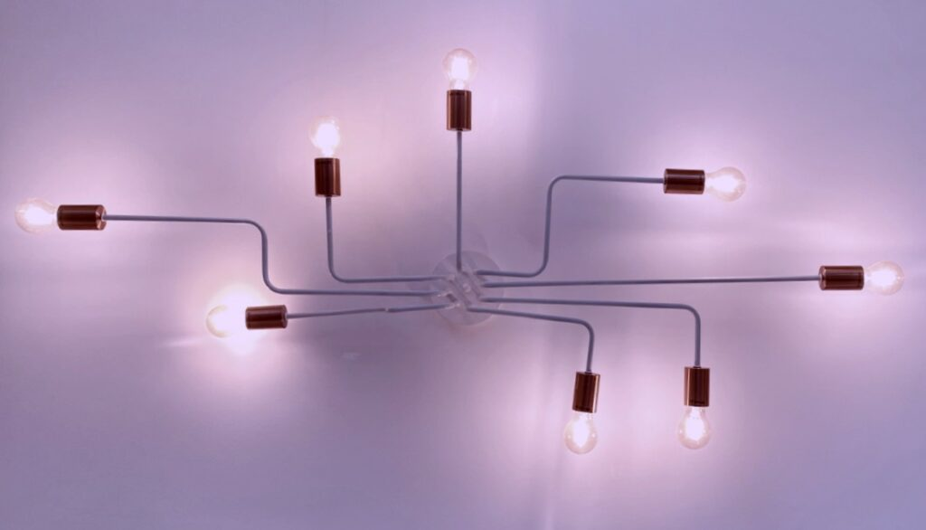 Lights representing REST endpoints