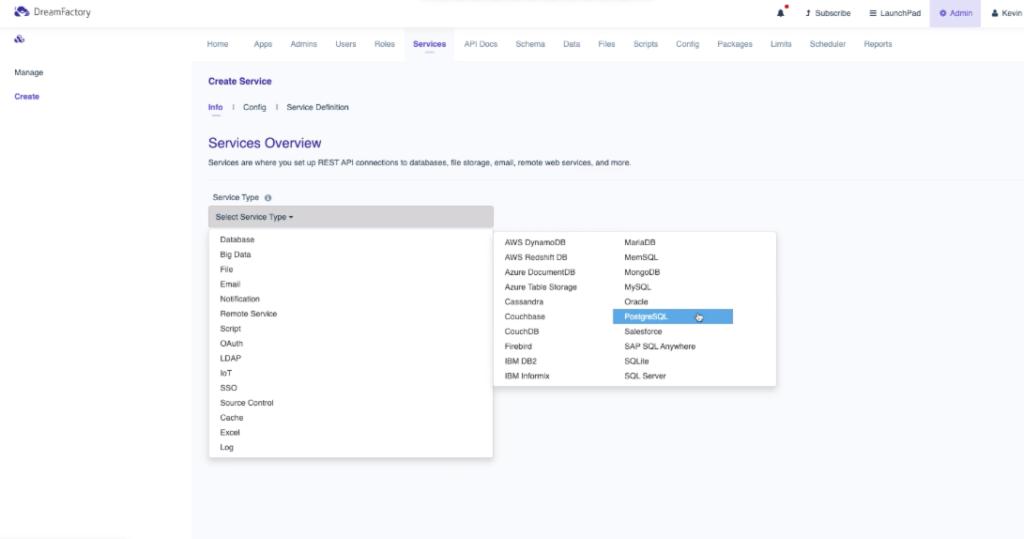 PostgreSQL API Creation