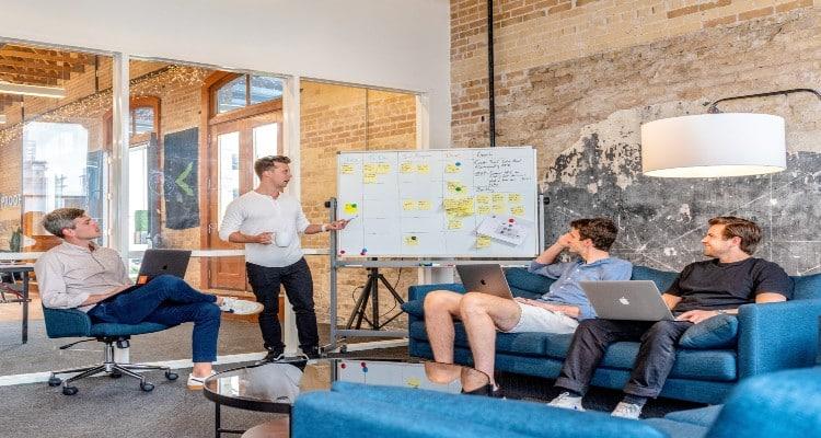 Team discussing API development strategies